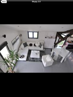 Amazing Loft - saint Maur ....needs a little pop of color. | House ...