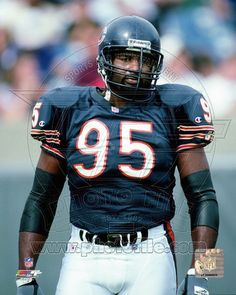 "Chicago Bears - Richard Dent ""The Sack Man"" 1985 Chicago Bears, Chicago Bears Super Bowl, Nfl Football Players, Bears Football, Baseball, Chicago Bears Pictures, White Sox Logo, Football Conference, Sports Stars"