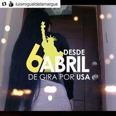 """Confirmado! Regresa de gira Luis Miguel Del Amargue #Repost @luismigueldelamargue  Desde el 6 hasta el 24 de Abril estaré de gira con mi gente linda de los Estados Unidos... Contrataciones @andujarmusic1 201-905-4609 @hanselmusic16 @managervip1 #Bachata #USA  Ya escuchaste mi nuevo sencillo """"Sombra Perdida""""? Link en mi perfil!!! Mix by @djlexnyc Video Motion by @ultravfx Diseño Grafico by @kassy.sanchez #Seguimos"""