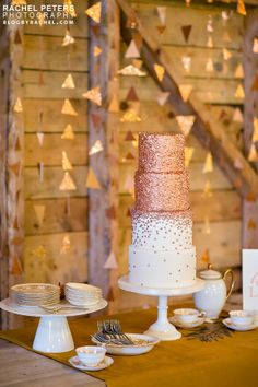 Copper Wedding Inspiration Coordination by www.kiss-the-bride.net