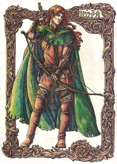 Amras. Young archer by Righon