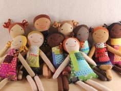 Sew it forward with the Sewing Smiles Pattern!  For each pattern purchased, a handmade doll using the same Sewing Smiles pattern will be given to a child in an underdeveloped country.  Proceeds from the sale will also provide income to a local sewist.