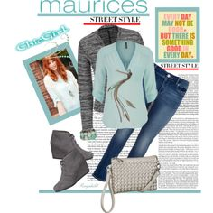 The Perfect Blouse with maurices: Contest Entry by ragnh-mjos on Polyvore featuring maurices, contest and outfit