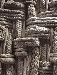 """For poems are not words, after all, but fires for the cold, ropes let down to the lost, something as necessary as bread in the pockets of the hungry.""""   ― Mary Oliver knots, knitting, nautic, rope,"""