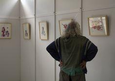 11/06/16 En el Pabellón de Actividades de la Feria del Libro de Madrid, 26 ilustraciones de Miguel Ángel Martín realizadas expresamente para El Quijote de REINO DE CORDELIA. Foto © Jorge Aparicio/ FLM16