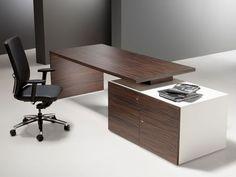 Escritorio de director / moderno / en madera CUBO  Forma 5