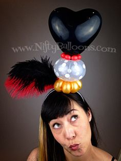 Nifty Balloons making a statement with Feathers #thefeatherplace #niftyballoons #ostrich #feathers