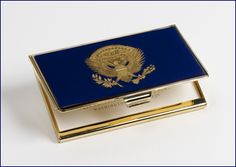 I think I could whip out my business card from this! // Resolute Eagle Card Case from White House Historical Association $35.00