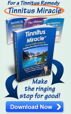 tinnitus miracle pdf