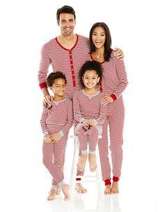 Adult Holiday PJ Stripe Pajamas Sets 75/% Organic Cotton Henglizh Baby Womens Pajamas