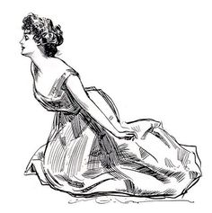 Art by Charles Dana Gibson* • Blog/Info | (https://en.wikipedia.org/wiki/Charles_Dana_Gibson) ★ || CHARACTER DESIGN REFERENCES™ (https://www.facebook.com/CharacterDesignReferences & https://www.pinterest.com/characterdesigh) • Love Character Design? Join the #CDChallenge (link→ https://www.facebook.com/groups/CharacterDesignChallenge) Share your unique vision of a theme, promote your art in a community of over 50.000 artists! || ★
