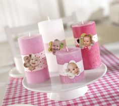 Photo candles.