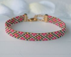 Hey, I found this really awesome Etsy listing at https://www.etsy.com/listing/236103747/bead-loom-bracelet-w005