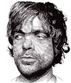 Les portraits en hachure au stylo encre de Rik Reimert - http://www.dessein-de-dessin.com/les-portraits-en-hachure-au-stylo-encre-de-rik-reimert/