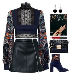 A fashion look from January 2017 featuring long sleeve crop top, short skirts and square-toe boots. Browse and shop related looks. Kpop Fashion Outfits, Stage Outfits, Bar Outfits, Vegas Outfits, Woman Outfits, Look Fashion, Korean Fashion, Womens Fashion, Fashion Design