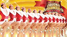 Nothing says Christmas like the Rockettes!! A MUST See!!
