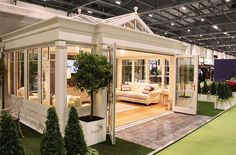 Wintergarten Anglian Orangery at Grand Designs Live. It looked fantastic (sure you agree) and had ma Orangery Extension Kitchen, Patio Design, House Design, Grand Designs Live, Garden Room Extensions, Four Seasons Room, House Extension Design, Sunroom Addition, Home Decor Ideas