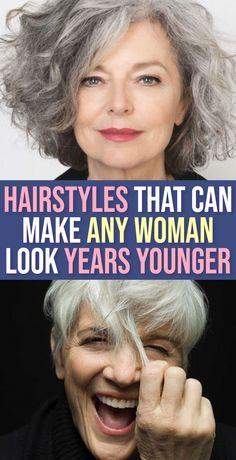 Wavy Hair, New Hair, Medium Hair Styles, Curly Hair Styles, Haircut For Older Women, Hair Health, Great Hair, Silver Hair, Hair Today