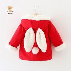 Детские куртки осень-зима из Китая :: Детские зимние Мех осла Пальто 1-2-3-4 Куртка Пальто маленьких девочек и кашемир сгущаться младенцев износа.
