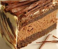 Crema de Chocolate para rellenar tortas - Rincón Recetas Choco Chocolate, Chocolate Desserts, Frosting Recipes, Cake Recipes, Cake Fillings, Fondant, Pie Dessert, Muffins, Party Cakes