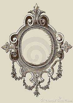 illustration-antique-mirror-8566572.jpg 636×900 píxeles