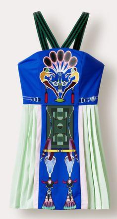 Le vestiaire sportswear de Mary Katrantzou x adidas Originals