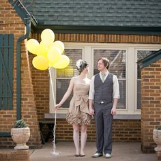 great post on how to host an at home wedding