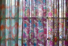 cortinas estampadas