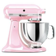 My dream is to have all my kitchen stuff in pink.. Haha.. Or at least most of it.. I wonder if Hubby would be ok with that?! mrscraig07