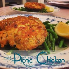 Picnic chicken | Chicken, With Calories | aHousewife #Chicken -  lunch,  recipes  #picnic