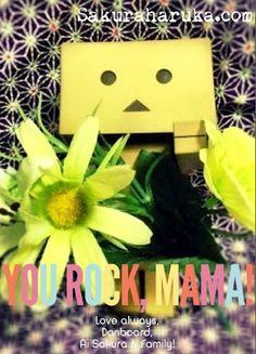 #Danboard Happy Mother's Day!! | #danbo #toys #photography #revoltech #yotsuba