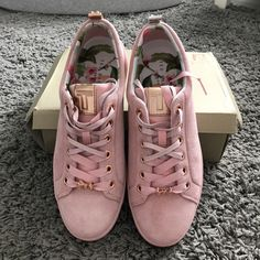 999e2d454b98 Ted baker Ted baker pink suede trainers Brand new with tags - Depop Suede  Trainers