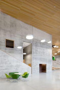 VERSTAS Architects, Andreas Meichsner, Tuomas Uusheimo · Saunalahti comprehensive school · Divisare