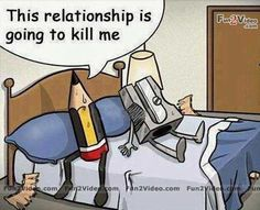 This relationship is going to kill me
