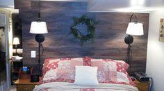 Self adhesive wood flooring wall