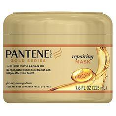 Pantene Pro-V Gold Series Repairing Mask, 7.6 Fluid Ounce...