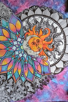 Trippy Drawings, Psychedelic Drawings, Art Drawings, Hippie Painting, Trippy Painting, Hippie Wallpaper, Trippy Wallpaper, Pintura Hippie, Photographie Indie