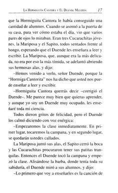 La Hormiguita Cantora y el Duende Melodía Words, Elves, Literatura, Horse