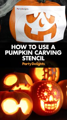 Make pumpkin carving easy with our free printable pumpkin carving stencils! In this step-by-step tutorial we'll show you how to use a pumpkin template and carve an impressive pumpkin with minimal effort!