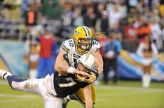 Clay Matthews (Green Bay Packers) in action.