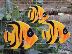 Clay Wall Art, Fish Wall Art, Fish Art, Gold Fish Painting, Painting On Wood, Fish Quilt, Wood Fish, Fish Wallpaper, Fish Drawings