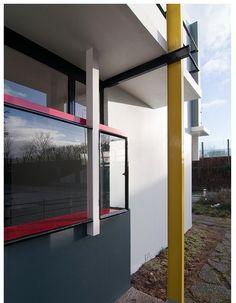 Schroder House, Wind Turbine, Windows, Mirror, Furniture, Home Decor, Architecture, Decoration Home, Room Decor