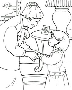be a good neighbor coloring page