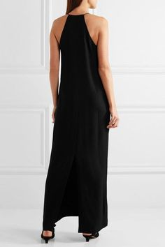 The Row - Nahel Crepe Maxi Dress - Black - US12