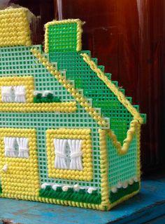 Plastic Canvas House