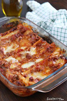 Primo piatto intramontabile, goloso e facilissimo da fare, una di quelle ricette che ti fà pensare subito al pranzo di famiglia delle domenica.