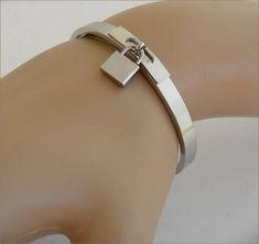 Silver cadenas woman bracelet bangle bracelet acier chic Love Bracelets, Cartier Love Bracelet, Bangle Bracelets, Bangles, Woman, Chic, Silver, Etsy, Jewelry