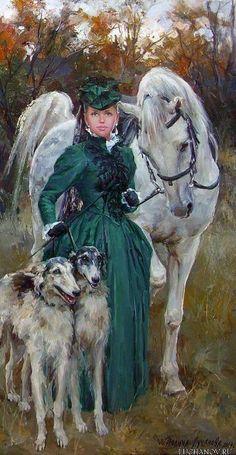 Luchanova, Polina, Before Hunt Art Painting, Equestrian Art, Fine Art, Animal Art, Old Paintings, Beautiful Art, Classic Art, Art, Horse Art