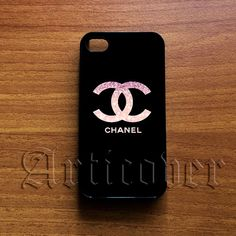Coco Chanel Glitter Case for iPod Touch 4/5 Samsung Note case samsung Galaxy S2/S3/S4/s5 case iPhone 4,4s,5,5s,5c case on Etsy, $14.00