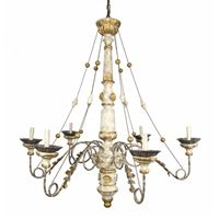 *Gilded French Shabby Chandelier   BelleMaisonFrancaise.com